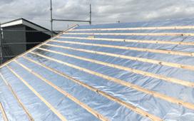 屋根遮断(タープホイル)