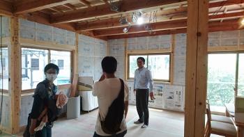 リノベーション構造見学会in新潟市東区