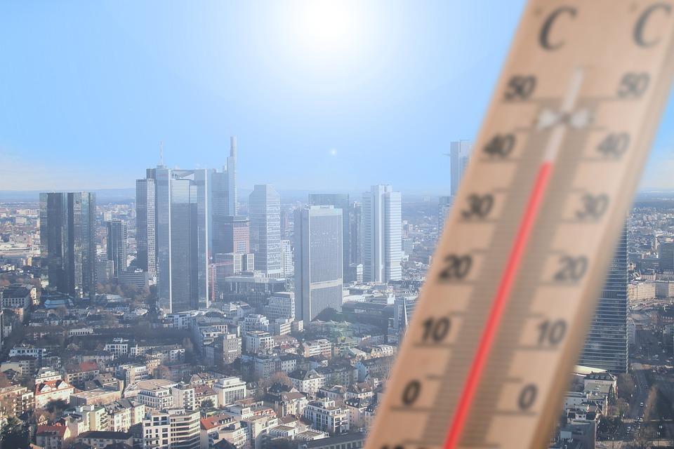 ヨーロッパの異常気象猛暑