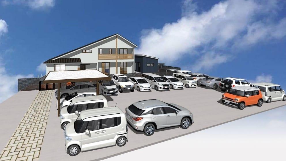 外観大野様駐車場
